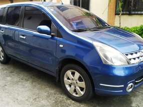 Blue 2008 Nissan Grand Livina Automatic Gasoline for sale
