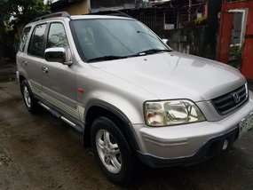 Silver 2001 Honda Cr-V Automatic Gasoline for sale