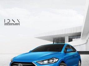 Blue 2019 Hyundai Elantra for sale in Makati
