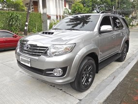 Sell 2nd Hand 2015 Toyota Fortuner Manual Diesel