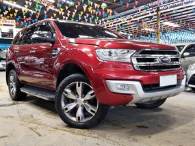 Red 2016 Ford Everest at 24000 km for sale in Quezon City