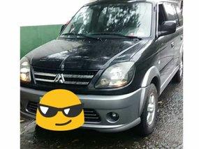 Black Mitsubishi Adventure 2011 Manual Diesel for sale