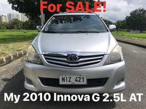 Used 2010 Toyota Innova Automatic Diesel for sale