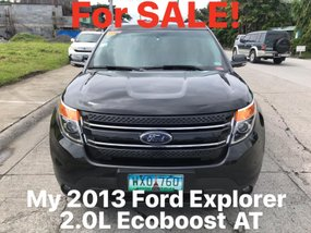 Black 2013 Ford Explorer for sale in Las Pinas