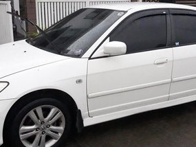Sell White 2005 Honda Civic in Quezon City