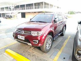 Selling Red Mitsubishi Montero Sport 2014 at 37000 km