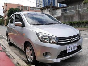 Silver Suzuki Celerio 2017 Manual Gasoline for sale
