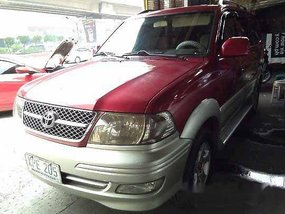 Red Toyota Revo 2004 Manual Gasoline for sale