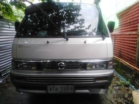 White Nissan Urvan 2015 at 74000 km for sale