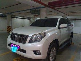 White Toyota Land Cruiser Prado 2010 Automatic Diesel for sale