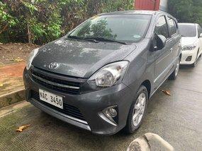 Grey Toyota Wigo 2017 for sale in Quezon City
