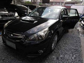 Black Subaru Legacy 2012 Automatic Gasoline for sale