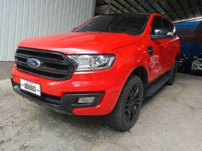 Sell Red 2016 Ford Everest at 40000 km