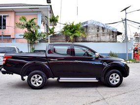 Black 2015 Mitsubishi Strada for sale in Lemery