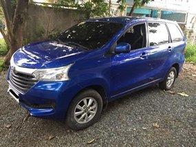 Blue 2017 Toyota Avanza Automatic Gasoline for sale