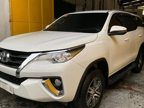 White 2018 Toyota Fortuner at 12000 km for sale