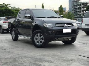 Black 2013 Mitsubishi Strada Manual Diesel for sale