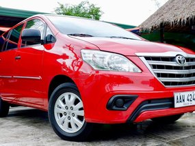 Red Toyota Innova 2014 Automatic Diesel for sale