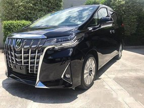 Black Toyota Alphard 2019 Automatic Gasoline for sale