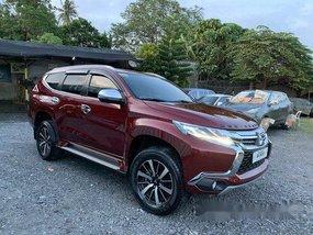Sell Red 2018 Mitsubishi Montero Sport at 12000 km