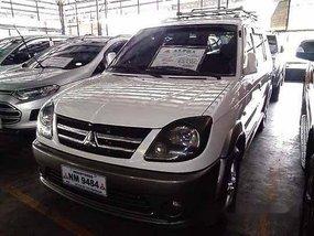 Selling White Mitsubishi Adventure 2016 Manual Diesel