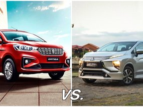 Suzuki Ertiga vs Mitsubishi Xpander: A comparison between the rookie and the veteran