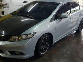 Sell Silver 2013 Honda Civic at 40000 km