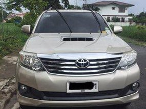 Selling Toyota Fortuner 2014 Automatic Diesel at 71000 km