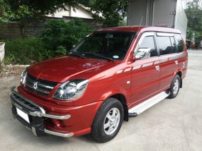 Red 2016 Mitsubishi Adventure at 42000 km for sale