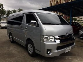 Sell Silver 2018 Toyota Hiace Manual Diesel at 17000 km