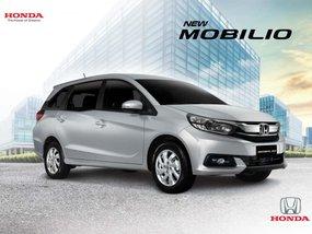 Silver Honda Mobilio 2019 for sale in Quezon City