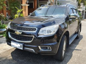 Black Chevrolet Trailblazer 2014 Automatic Diesel for sale