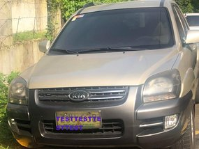 2nd Hand Kia Sportage 2007 for sale in Quezon City
