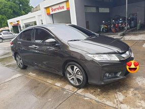 Black Honda City 2015 at 55000 km for sale