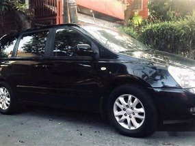 Sell Black 2006 Kia Carnival Automatic Diesel at 165000 km