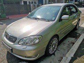 Selling Beige Toyota Corolla Altis 2005