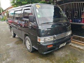 Grey Nissan Urvan 2014 for sale in Quezon City