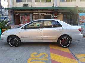 Sell Silver 2007 Toyota Altis Manual at 102000 km