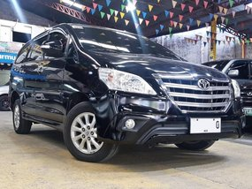 Black 2015 Toyota Innova Gasoline Automatic for sale