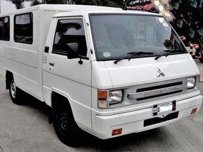 White 2015 Mitsubishi L300 Van Manual Diesel for sale