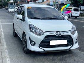 White Toyota Wigo 2018 Automatic for sale in Davao City