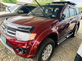 Sell Red 2010 Mitsubishi Montero Sport Manual in Isabela