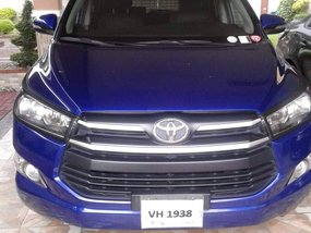 Blue 2017 Toyota Innova Automatic Diesel for sale