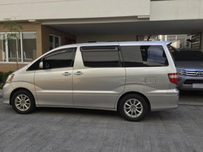 Sell 2nd Hand 2002 Toyota Alphard Van in Quezon City