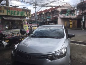 Silver 2017 Toyota Vios Manual Gasoline for sale