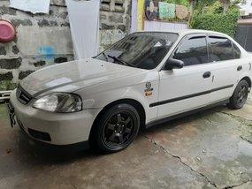 Selling White Honda Civic 1999 Sedan in Pampanga