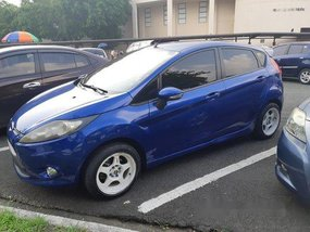 Sell Blue 2012 Ford Fiesta