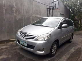 Silver 2010 Toyota Innova Automatic Diesel for sale