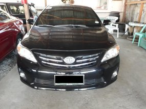 Black 2013 Toyota Altis at 41000 km for sale
