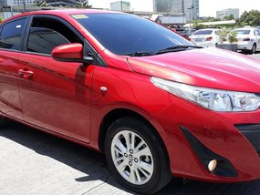 Selling Red Toyota Vios 2019 Sedan at 1000 km